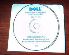 CD Dell PowerEdge PowerVault SNAP Update A09 DEL-101-A2 - DOS Bootable