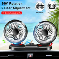 360° Rotating Electric Car  Double-headed 12V Car  & 2 Gear Cooling  !!A
