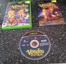 VOODOO VINCE=X BOX XBOX-GAME=DOLL=MAGIC=MISSION=POWERS=GATORS=MINI GAMES=ATTACKS