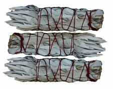 3 White Sage Wands / Smudge Sticks - THREE Mini Wands - SK WHITE SAGE