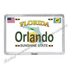 Souvenir Foto Magnet - Orlando Florida -  Fotomagnet - 5mm Acryl