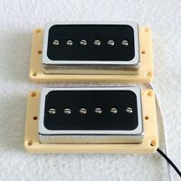 P90 Electric Guitar Pickups Humbucker Set Magnet Ceramic Pickups for Les Paul