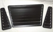 Rival Autosport Type 1 Universal Aluminum Hood Louvers