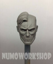 "Cyborg Superman Injustice ver. 1/6 Scale CUSTOM UNPAINT HEAD for 12"" Body Figure"