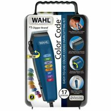 WAHL Color Code 17 Piece Complete Haircutting Kit Hair Clippers FREE SHIPPING