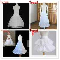 4 types petticoats crinoline underskirt jupon for Flower girl Dresses in wedding