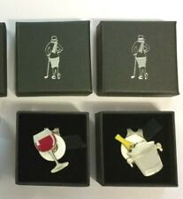 GOLF BALL MARKERS-HIS & HERS-WINE, BEER, RED WINE & CHAMPAGNE SET IN A BOX-£6.49