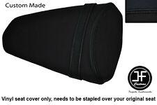 BLACK AUTOMOTIVE VINYL CUSTOM FOR KAWASAKI Z1000 10-13 REAR SEAT COVER ONLY