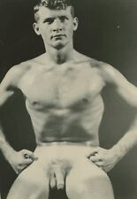Vintage 50 Male Nude Academic Art Study Photo 14270