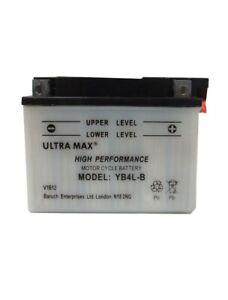 Genuine Ultramax YB4L-B Motorbike Motorcycle Scooter 12V Battery