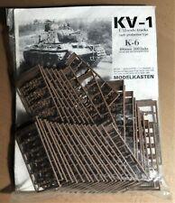 MODELKASTEN K-6 - KV-1 EARLY PRODUCTION TYPE - TRACK/CINGOLI - 1/35 PLASTIC