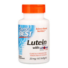 Doctor s Best  Lutein with Lutemax 2020  20 mg  60 Softgels