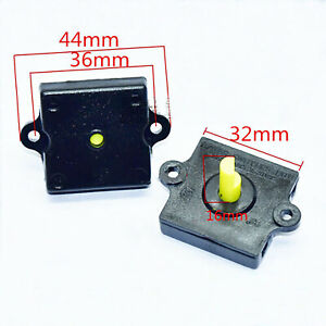 2pcs Three-Speed Square Rotary Switch Shift for Electric Fan Blender Juicer