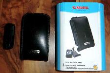 + BlackBerry Schutzhülle Tasche Krusell FITS: Bla Curve 8900 Orbit Flex Schwarz+