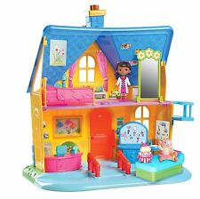 Doc McStuffins Clinic Doll House 3+ New Toy Rhonda Lambie Bed Play Hallie Home