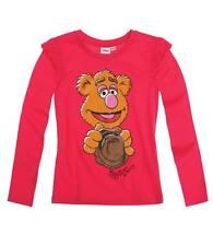 NUEVO Jersey Camisa Disney Die Muppets Gris Fucsia 104 116 128 146 #167