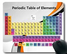 Periodic Table of The Elements Mouse Mat,Educational Science Large Mousepad