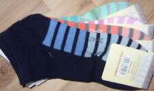 4 Paar Kindersocken / Sneaker Gr.: 35 - 38 mehrfarbig gestreift / NEU,  X / 51