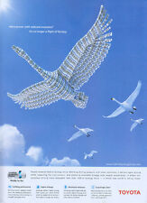 "Toyota Hybrid Synergy Drive ""Swans"" 2006 Magazine Advert #3341"