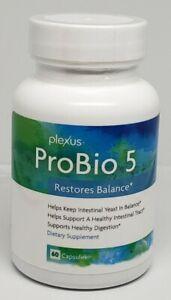 Plexus Slim ProBio 5 Detox Weight Loss New sealed 60 capsules Expires 02/23