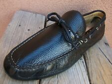 COLE HAAN Mens Dress Shoes Black Leather Casual Moccasin Driver Loafers Size 8M