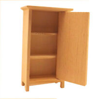 Unfinished Wood Pine Cabinet Pantry (Craft and dollhouse miniature furniture)