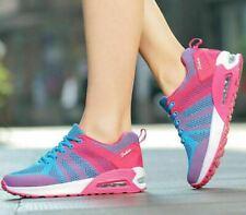 Women's Sport Air Cushion Running Shoes Breathable Mesh Tennis Walking Sneakers