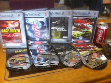 PS2 Burnout 2 Toca Driver 007 Spinter Cell Bundle Sony Playstation 2