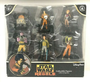 Disney Parks Star Wars Set of 6 Collectible Figures- Prequel | Rebels
