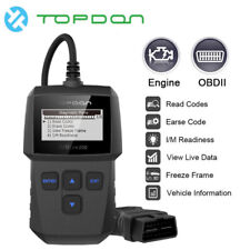 Topdon OBD2 Scanner Check Engine Fault Code Reader CAN Auto Diagnostic Scan Tool