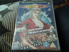 dvd dr doctor who disc number 9 new sealed 90 minutes long series 2 eps 3 and 4