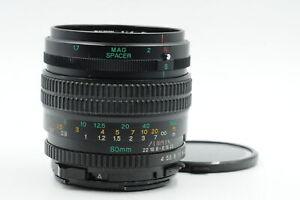 Mamiya 645 80mm f4 Sekor Macro C N Lens 80/4 M645 #479