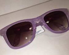 NIB American Eagle Outfitters Folding Way fairer SUNGLASSES Translucent Purple