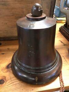 Large Bronze Bell 1956 - Fire Service/ Green Goddess 10.85kg