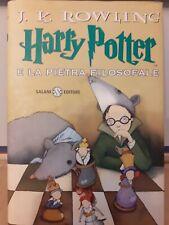 Harry Potter e la Pietra Filosofale Salani 2000 Copertina rossa Rowling 🤩🤩
