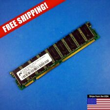 Micron Technology 512MB PC133 SDRAM 168-Pin DIMM RAM Memory MT18LSDT6472AG-133D2