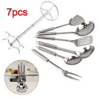 7 Piece Stainless Steel Kitchen Cooking Tool Gadget Set Kitchenware UK