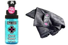 Muc-Off Screen Cleaner Cleaning Phone Laptop GPS TV Tech cloth and 35ml bottle