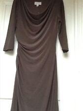 Ronni Nicole draped, cowl neck jersey dress, size 10, NOWT