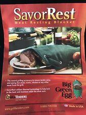 Genuine Big Green Egg Grill & Smoker Large SavorRest Meat Resting Blanket
