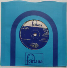 "Johnny Mathis - Call Me / Stairway To The Sea 7"" Vinyl Record 45RPM 1950s Music"