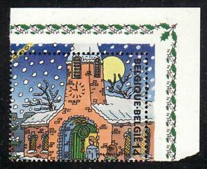 Belgien Jahrgang 1996 Blockmarke Eckrand Mi Nr 2725 ** Motiv Weihnachten Kirche