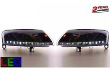Projector LED Headlights Lamps - Black Audi A6 C5 / 4B -  (1999-2005)