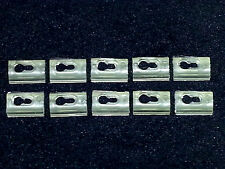 NOS GM Body Front Rear Door Window Reveal Trim Moulding Molding Clips 10pc Z