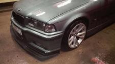 BMW E36 WIDE GTR EVO front M bumper spoiler chin lip addon valance trim splitter