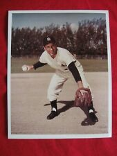 """VINTAGE FRAMEABLE 8"""" X 10""""  PHOTO REPRINT YANKEE'S PHIL RIZZUTO"""