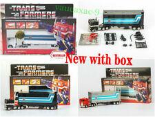 TRANSFORMERS G1 reissue optimus prime Brand new action figure MISB white black