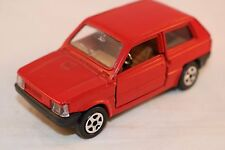 Mebetoys A 125 A-125 Fiat Panda Red perfect mint 1:43 all original condition