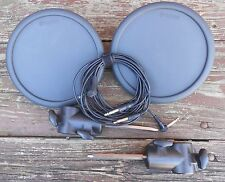 Two (2) Yamaha TP65 Electronic Drum Pads with Pad Mount & Cable TP-65 EC