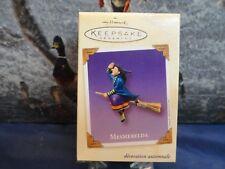Hallmark Keepsake Ornament 2003 Purple Halloween Mesmerelda the Witch New